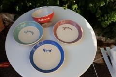 Commande assiettes enfants couleurs
