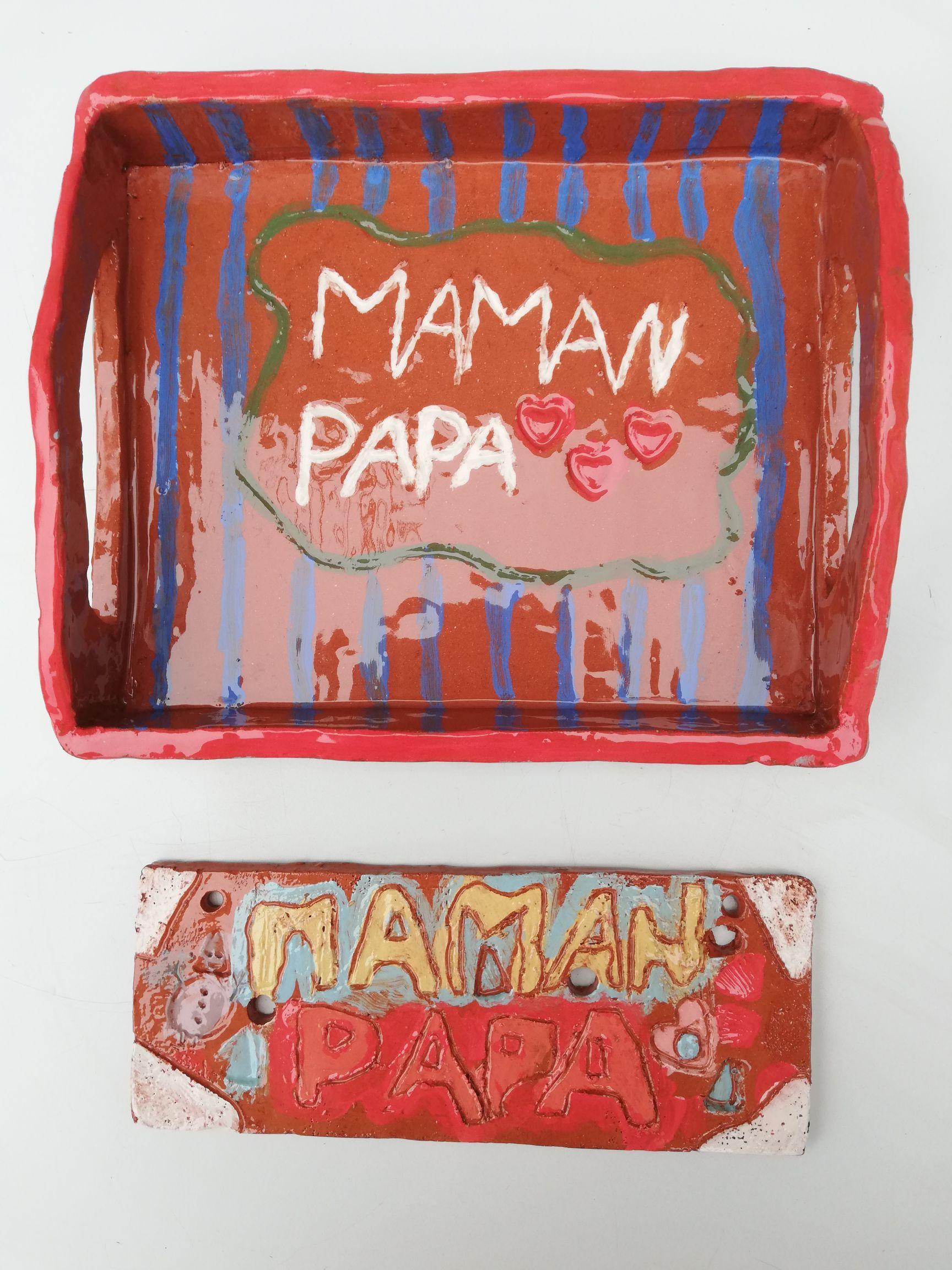 plateau papa - maman