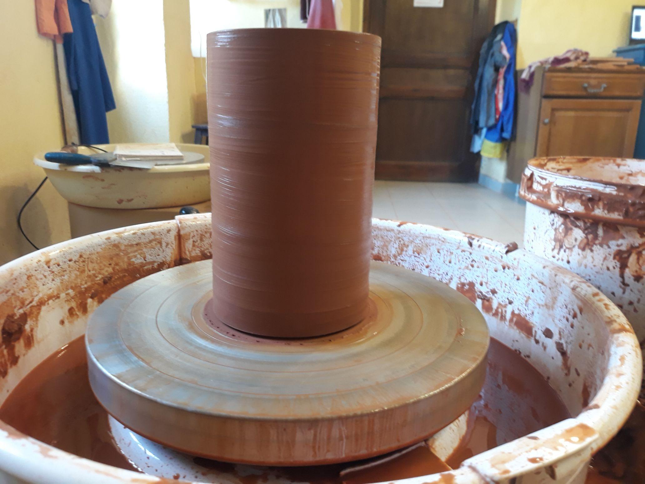 cylindre tourné